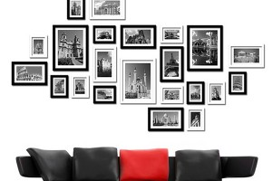 串起精彩瞬间照片墙设计攻略