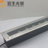 ** led条型地埋灯18W 长方形埋地灯 地射灯工程亮化专用