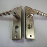 西欧S9018弹子插芯门锁房门锁执手锁木门锁室内机械门锁把手门锁